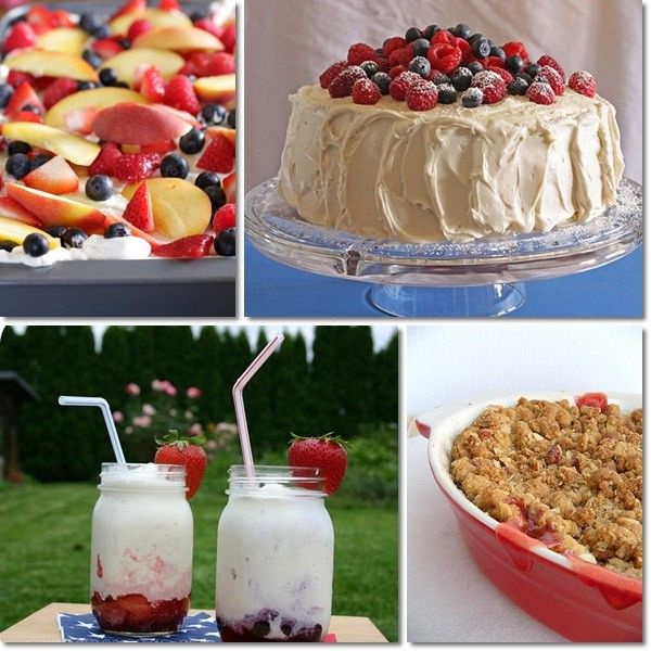10 Festive Fun 4th Of July Desserts