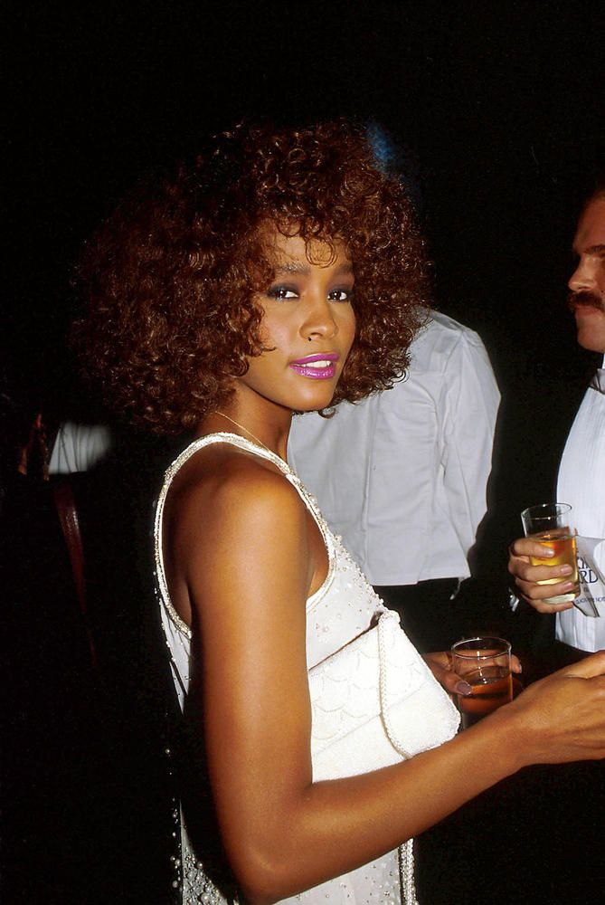 is whitney houston gay