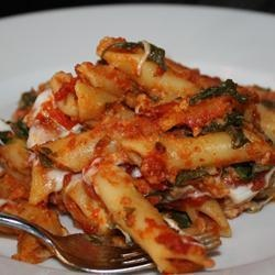 cheesy spinach pasta bake | Foodie Files | Pinterest