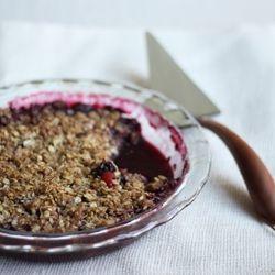 Blackberry and Nectarine Crisp. | Desserts for Entertaining! | Pinter ...