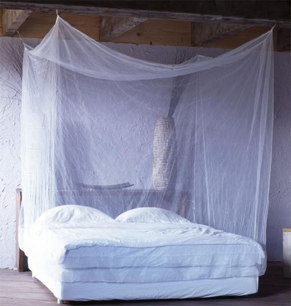 Bed canopy ideas bedroom decorating ideas - Mosquito Net Bed Beautiful Decorating Pinterest