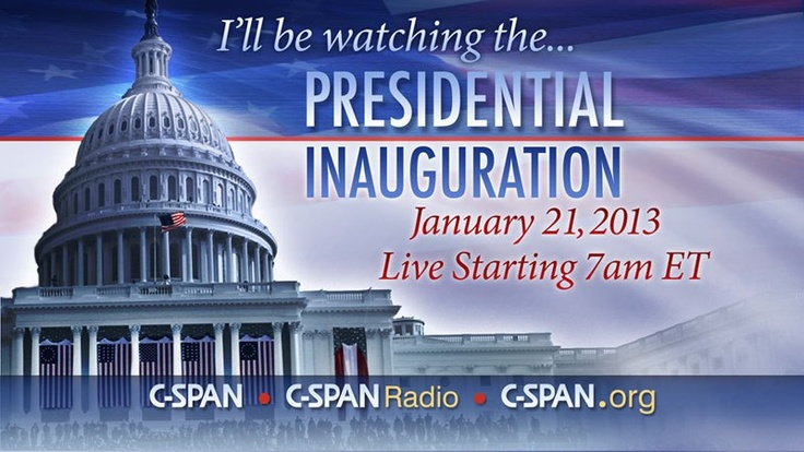 Presidential inauguration on c span behind the scenes pinterest