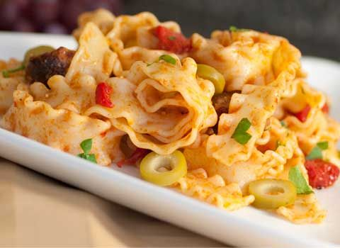 Pasta with sausage and roasted peppers   Food - Pasta   Pinterest