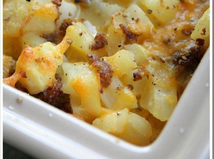 Cheesy Potato Breakfast Casserole | Food! | Pinterest