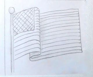 drawing flags