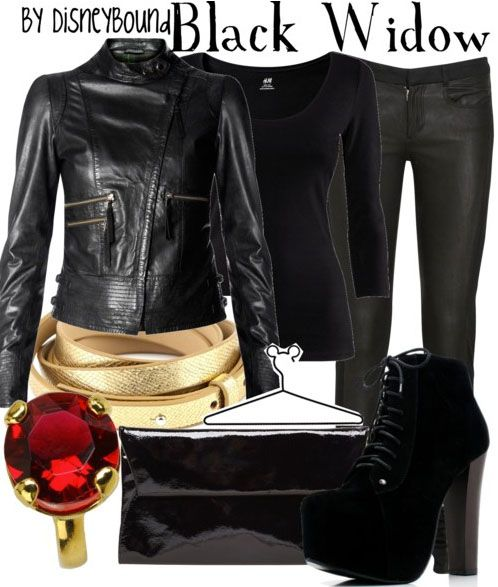 black widow outfit