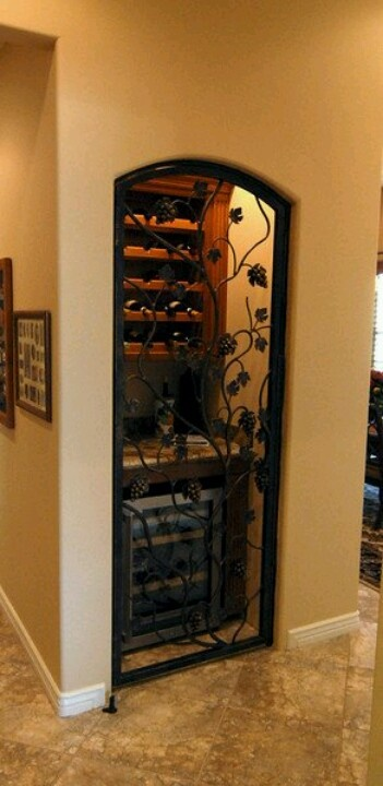 Turn a coat closet into a wine cellar my style pinterest Turn closet into wine cellar