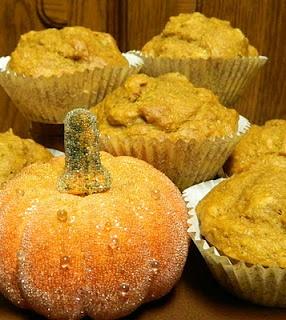 Pumpkin Nut Muffins | Sourdough Recipes | Pinterest