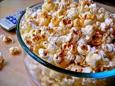 chili lime popcorn | Bountiful GRAINS & Breads | Pinterest
