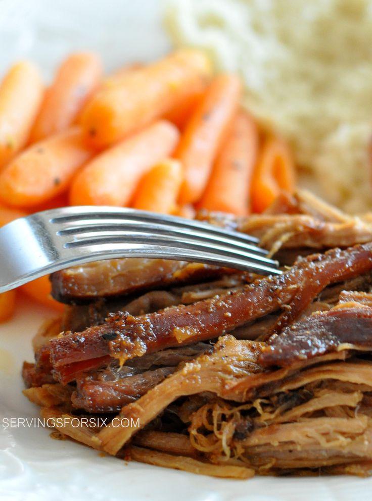 Slow Cooker Sweet Pork Tenderloin | Meal planning- pork | Pinterest