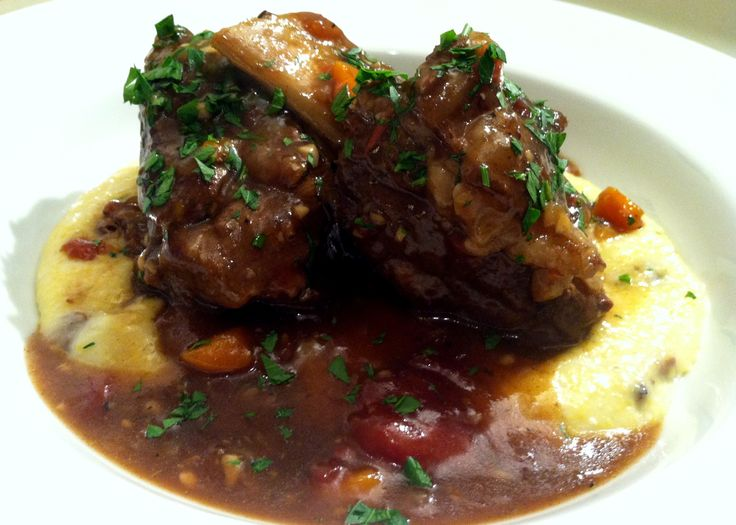 Guinness Braised Short Ribs with Creamy Jalapeno Polenta