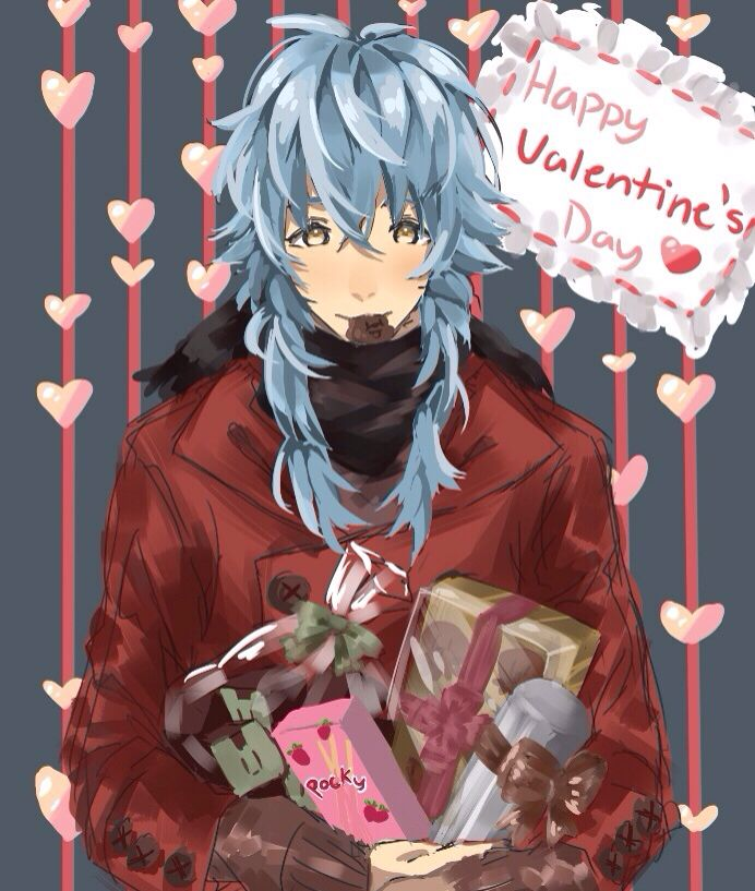 valentine's day zerochan