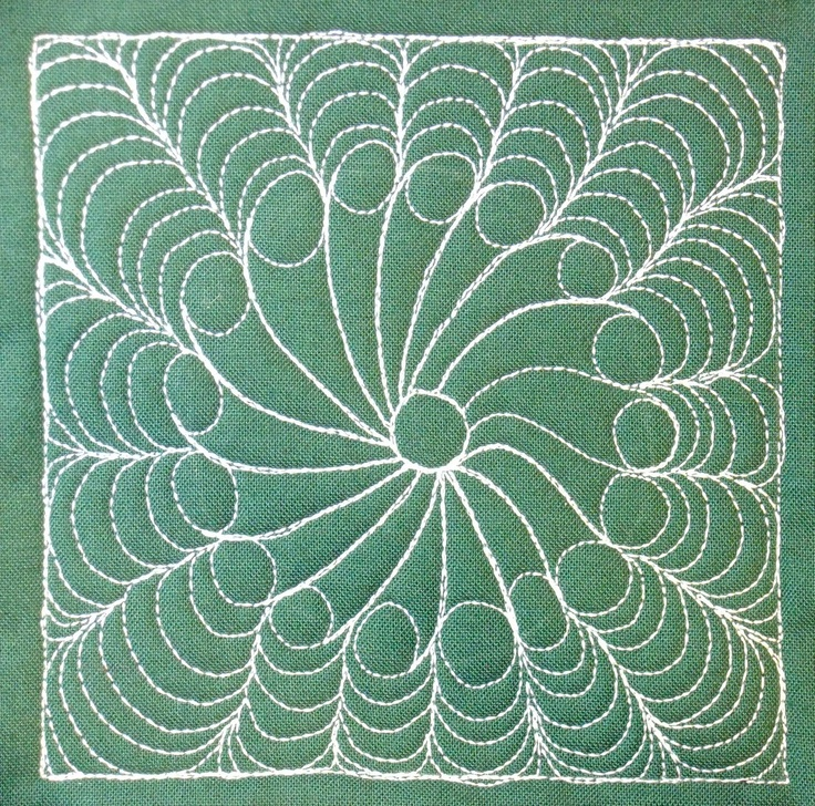 Free Motion Quilting Patterns Pinterest : Free Motion Quilting Designs for quilting Pinterest