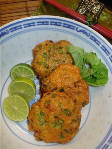 Easy thai fish cakes the fabulous food of asia pinterest for Thai fish cakes