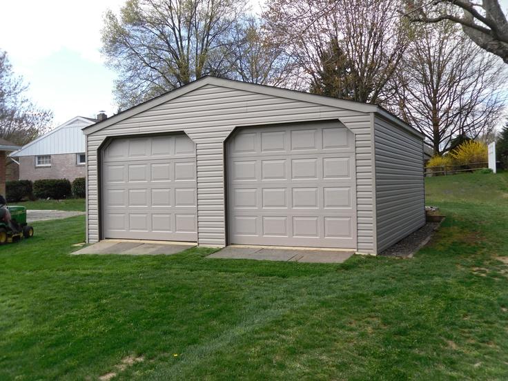 20x20 2 car modular garage for the home pinterest for 20x20 garage