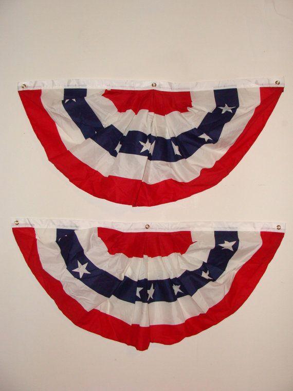 usa flag circle