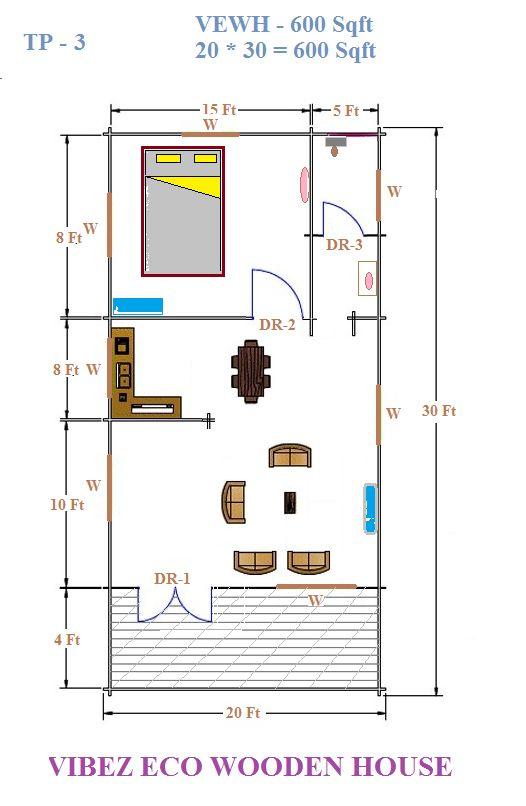 Floor plans 600 sq ft casita ideas ada compliant for 600 square feet floor plan