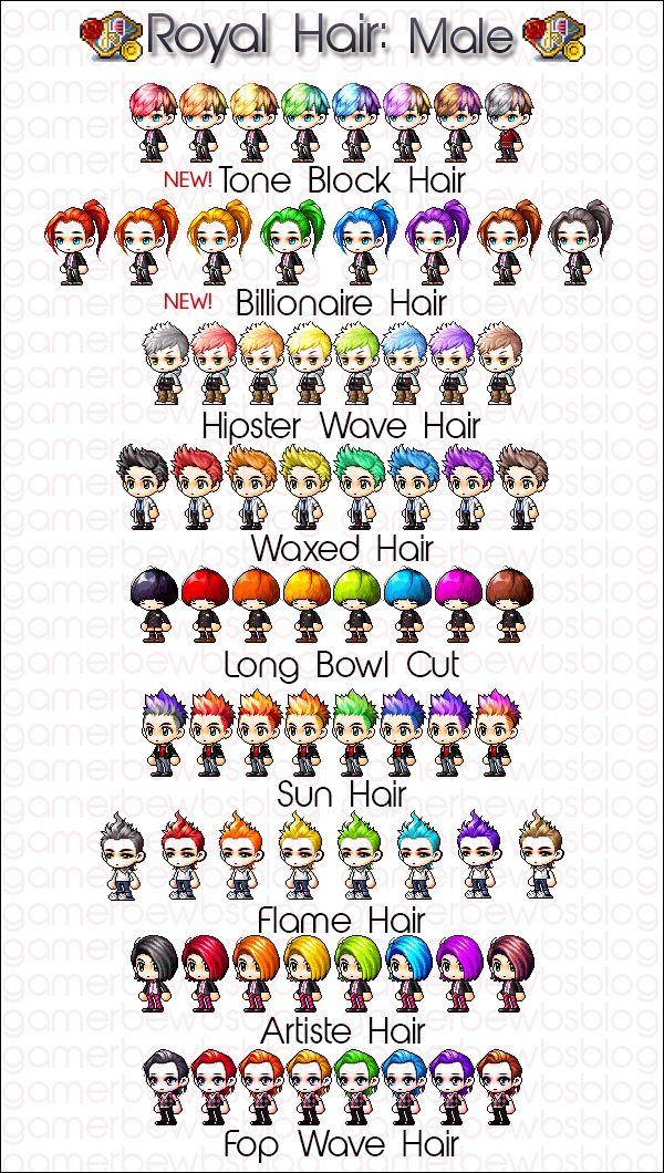 Maplestory royal hair coupon list