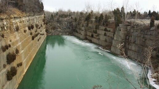 Empire Quarry   Indiana, The places youll go, Lawrence county
