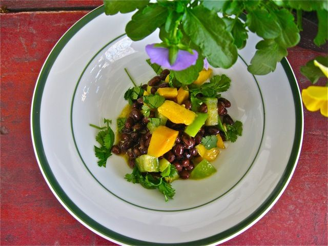 Mango & Black Bean Salad recipe from Food52