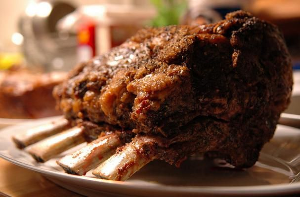 Christmas Showstopper: Herb and Salt Crusted Standing Rib Roast