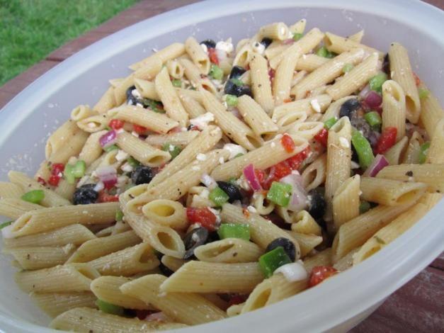 Mediterranean Pasta Salad | Food-Pastafarians | Pinterest