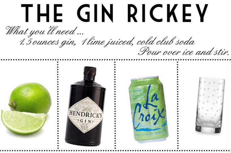 "Gin Rickey www.LiquorList.com ""The Marketplace for Adults with Taste ..."