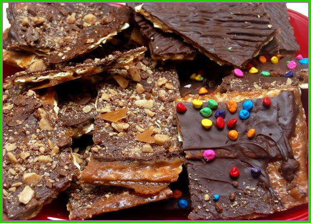 GET READY TO TRANSFORM SOME PLAIN MATZOH INTO SOME CRACK TOFFEE ...