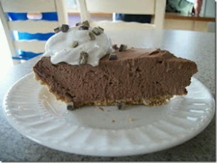Chocolate Mousse Pie | Dessert | Pinterest