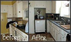 Countertop Makeover : Cheap countertop makeover kitchen Pinterest