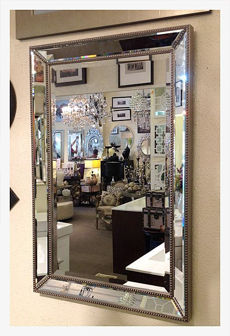 Mirrored photo frames multi