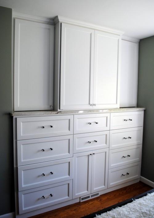 Built in dressers ideas for girls room pinterest for Bedroom t v dressers