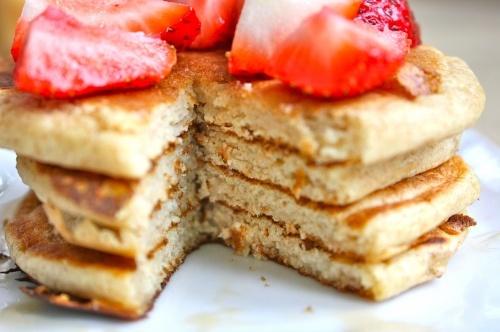 Whole Wheat Ricotta Cheese Pancakes | Hot cakes | Pinterest