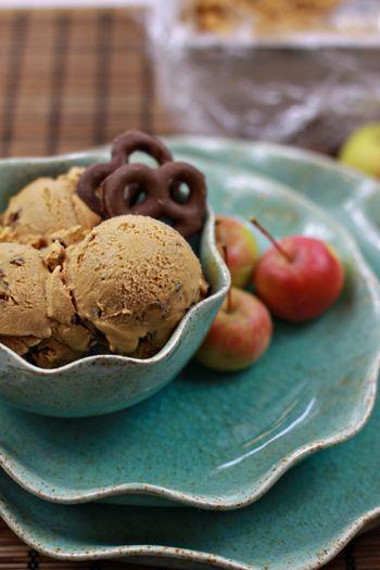 salted caramel gelato w/ chocolate covered pretzels {talenti + trader ...