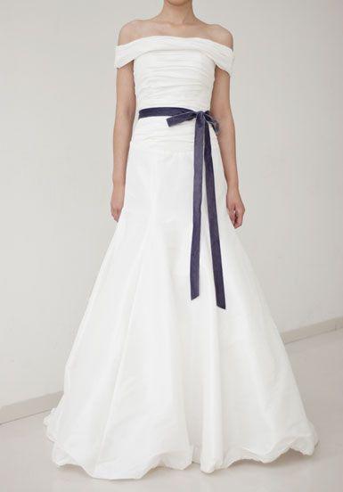 Princess Changeable Shoulder Ruffled Wedding Dress