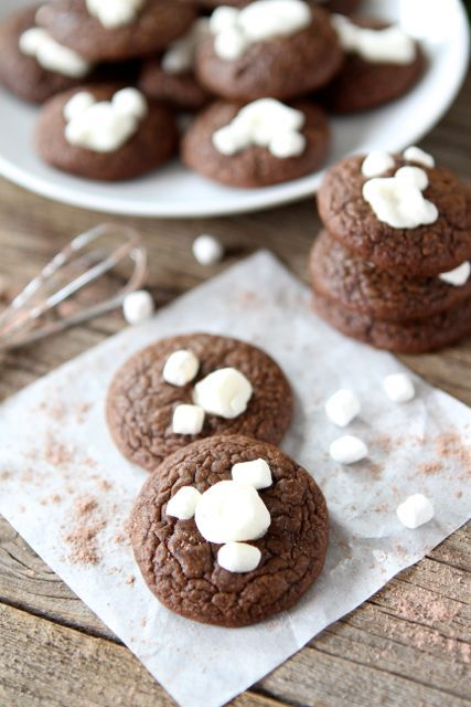 Mini Hot Cocoa Cookies | Recipe