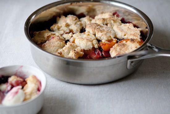 blackberry apricot cobbler 2 | To Make! | Pinterest
