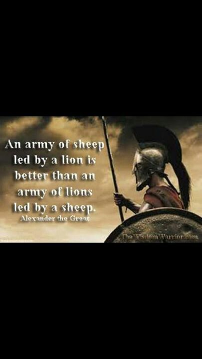 Alexander The Great Leadership Quotes Quotesgram