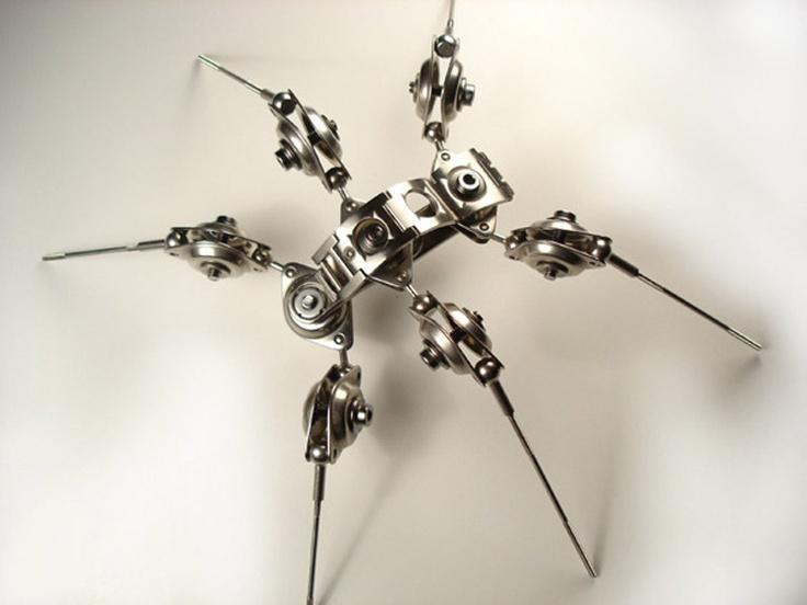 Cyberpunk Spider....