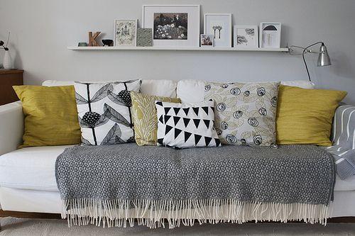 Katja R. - sofa & pillows