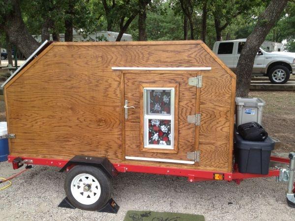 Homemade teardrop camper (craigslist) | Travel/vacation | Pinterest
