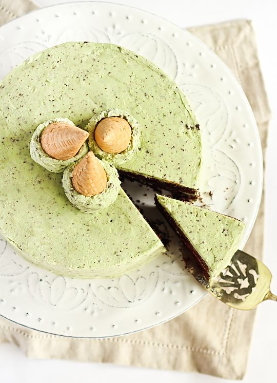 Mint Chocolate Chip Cake | Food etc. | Pinterest