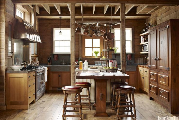 50 different barn kitchen design styles cabin or barn for Different kitchen styles designs