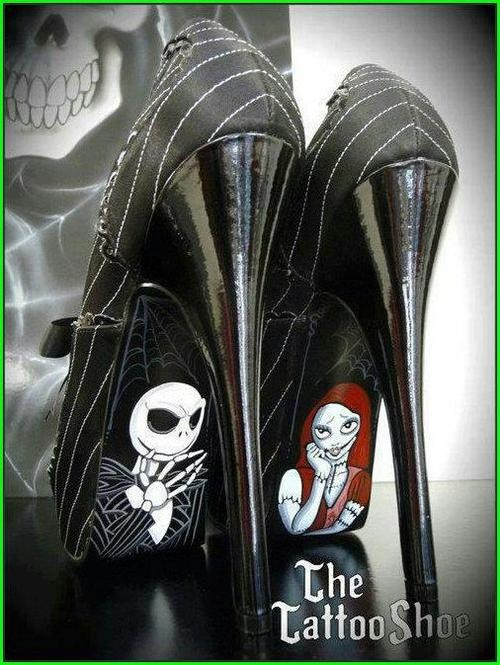 Jack skellington and sally shoes must have i don t care if i d never