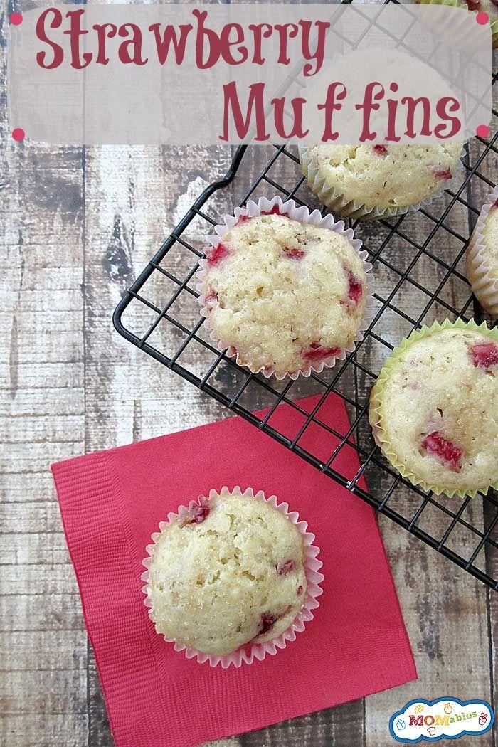 Strawberry Muffins | Recipe