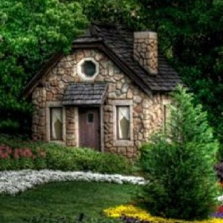 Stone cottage lord willin and the creek don 39 t rise for Small stone cottage