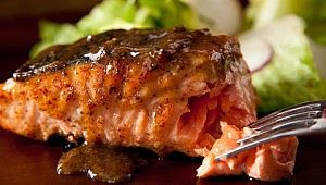 Maple-Mustard Grilled Salmon Recipe | Culture | Pinterest