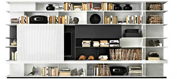 Modern Storage Furniture, Contemporary Shelving Units for Stylish Int ...