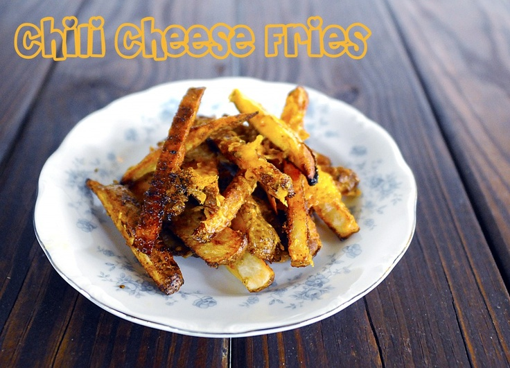 Chili Cheese Fries - om nom nom! if you've got a craving, get 'em for...