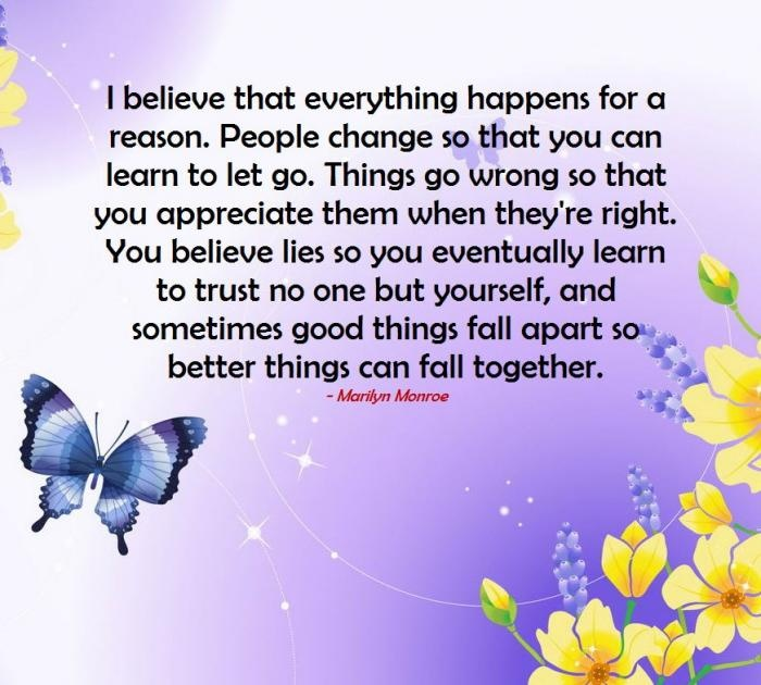 i believe essays everything happens for a reason poem